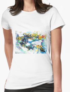 The Four Seasons - Winter Womens Fitted T-Shirt