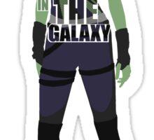 Gamora Typography Sticker