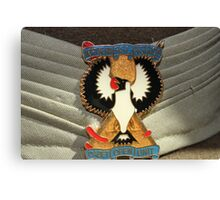 Army cadet hat Canvas Print