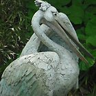 pelican statue by Cliffyj