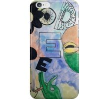 GOOD VIBE TRIBE iPhone Case/Skin