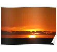 Sunset - Warrnambool Coast Poster