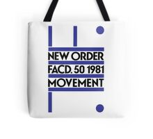 New Order, Movement Tote Bag