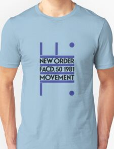 New Order, Movement Unisex T-Shirt