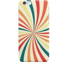 Retro Swirl iPhone Case/Skin