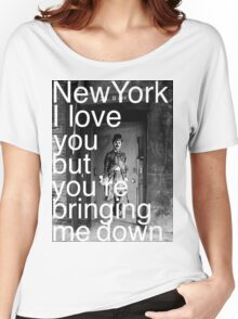 New York I love you..... Women's Relaxed Fit T-Shirt