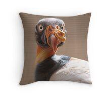 One Ugly Buzzard  Throw Pillow