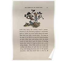 The Queen of Pirate Isle Bret Harte, Edmund Evans, Kate Greenaway 1886 0025 On a Log Poster