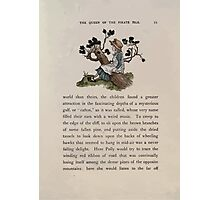 The Queen of Pirate Isle Bret Harte, Edmund Evans, Kate Greenaway 1886 0025 On a Log Photographic Print