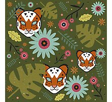 Tigers in the Jungle Photographic Print