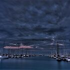 Manly Harbor dusk by GabrielK