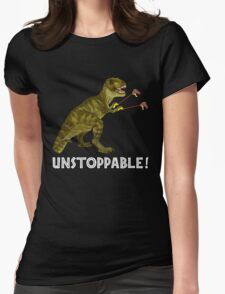 Tyrannosaurus Rex with Grabbers is UnStoppable 2 Womens Fitted T-Shirt