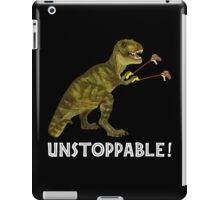 Tyrannosaurus Rex with Grabbers is UnStoppable 2 iPad Case/Skin