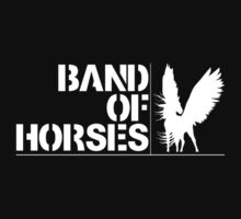 Band Of Horses by Lars Nielsen