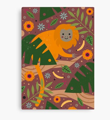 Golden Lion Tamarin  Canvas Print