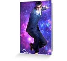 Ten In Stars Greeting Card