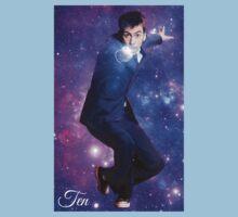 Ten In Stars One Piece - Short Sleeve