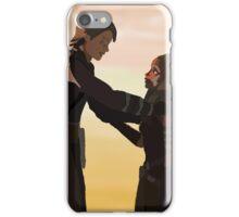 Anakin and Ahsoka iPhone Case/Skin