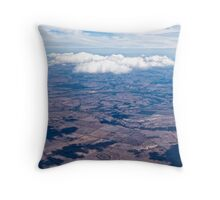 Just floating around Throw Pillow