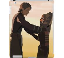 Anakin and Ahsoka iPad Case/Skin