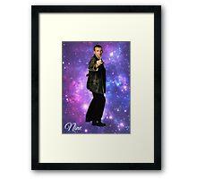 Nine In Stars Framed Print