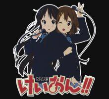 Yui Hirasawa and Mio Akiyama- K-on! by fayezfaye