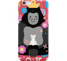 Koko the Gorilla  iPhone Case/Skin