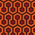 Overlook Hotel Carpet (The Shining)  by RetroPops