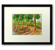 The Gladness of Nature Framed Print