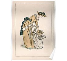 Kate Greenaway Almanack 1893 0008 Front Piece Poster