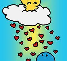 Raining love :) by shandab3ar