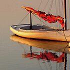 Sailboat at Dusk by joAnn lense