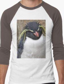 Rockhopper Penguin Men's Baseball ¾ T-Shirt