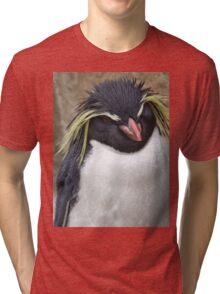Rockhopper Penguin Tri-blend T-Shirt