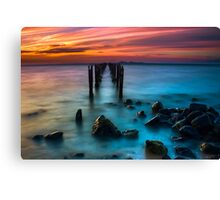 Dusk at The Dell #2 Canvas Print