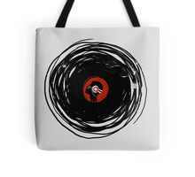 I'm spinning within with a vinyl record... GRUNGE TEXTURE Tote Bag