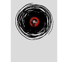 I'm spinning within with a vinyl record... Photographic Print