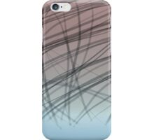 abstract strips on gradient iPhone Case/Skin