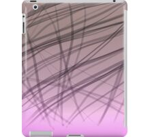 abstract strips on gradient iPad Case/Skin