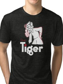TIGER FIBEL Tri-blend T-Shirt