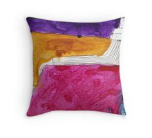 The red cardinal Throw Pillow