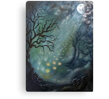 Fairytales and fireflies Canvas Print