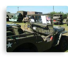 military truck Canvas Print