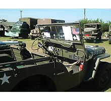 military truck Photographic Print