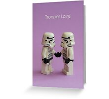 Trooper Love Greeting Card