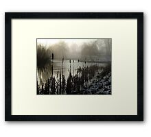 Morning on the Golf Course Framed Print