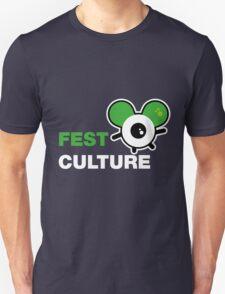 FestCulture Logo Original Green - Dark T-Shirt
