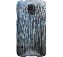 Winter woodland Samsung Galaxy Case/Skin