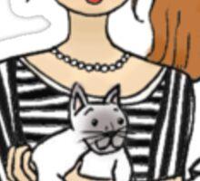 Crazy Cat Lady Sticker