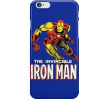 Iron Man Retro Comic iPhone Case/Skin